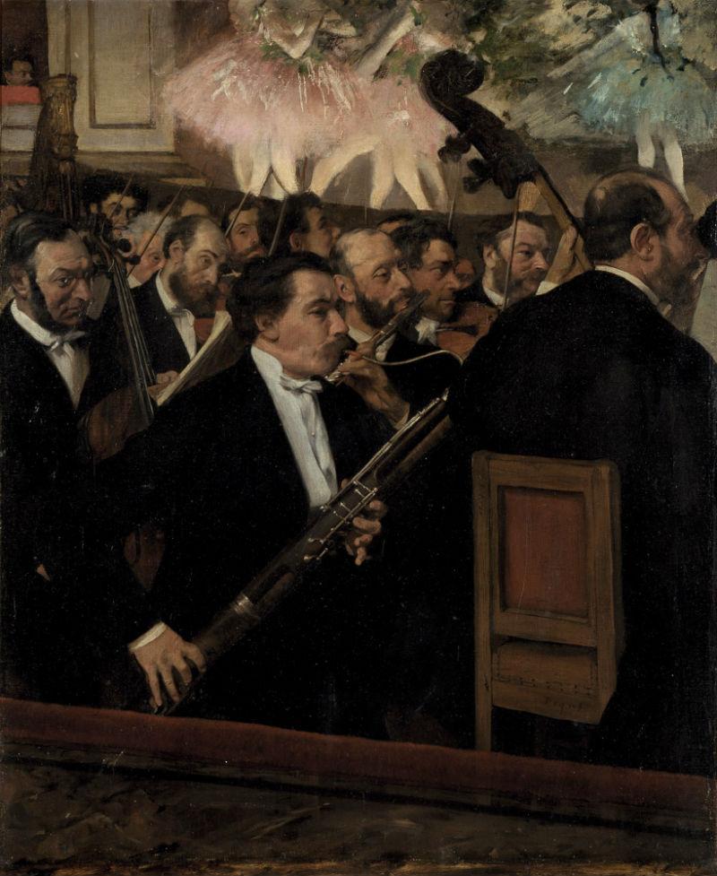Эдгар Дега - Оркестр Оперы - 1870.jpg