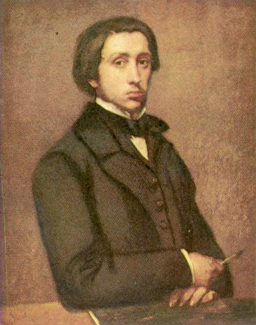 Эдгар Дега - Автопортрет - 1854-1855.jpg