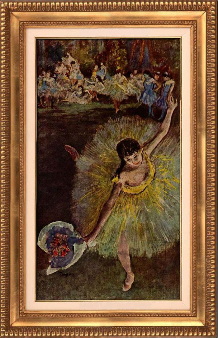 Эдгар Дега - Танцовщица с букетом - 1877.jpg