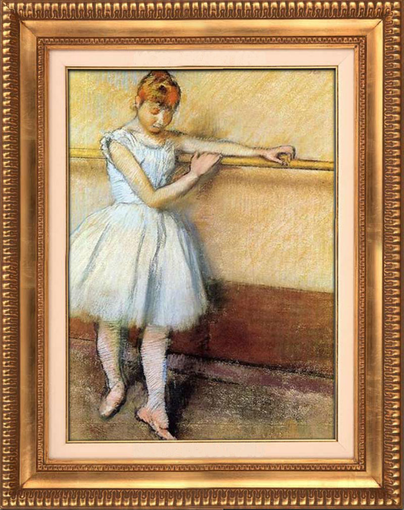 Эдгар Дега - Танцовщица у станка - 1905.jpg