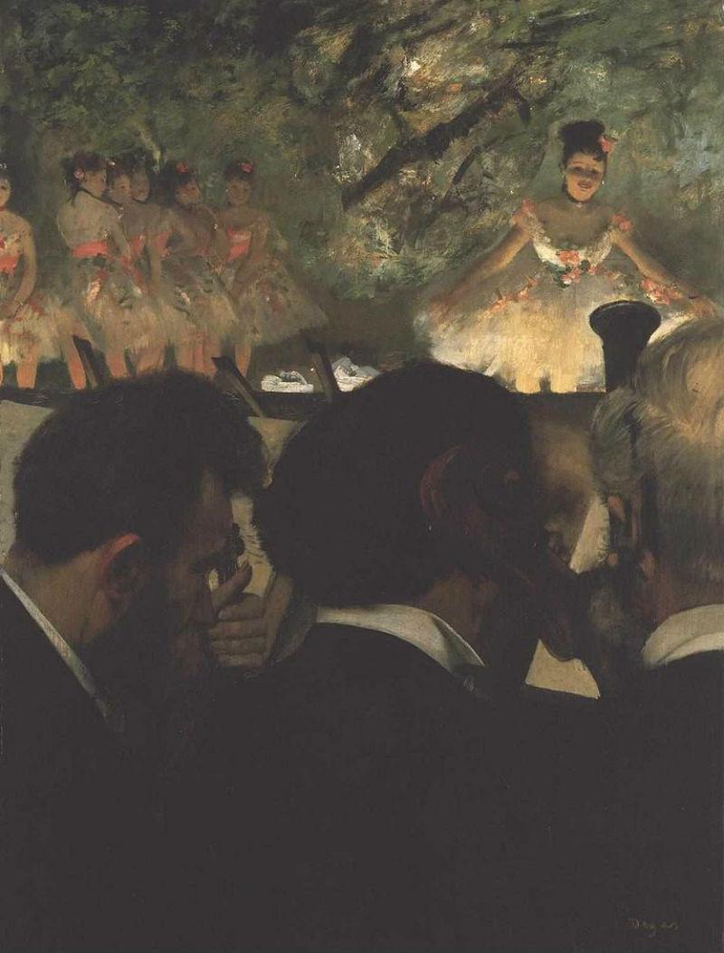 Эдгар Дега - Музыканты в оркестре - 1870-1871 - Городской институт искусств Франкфурт-на-Майне.jpg