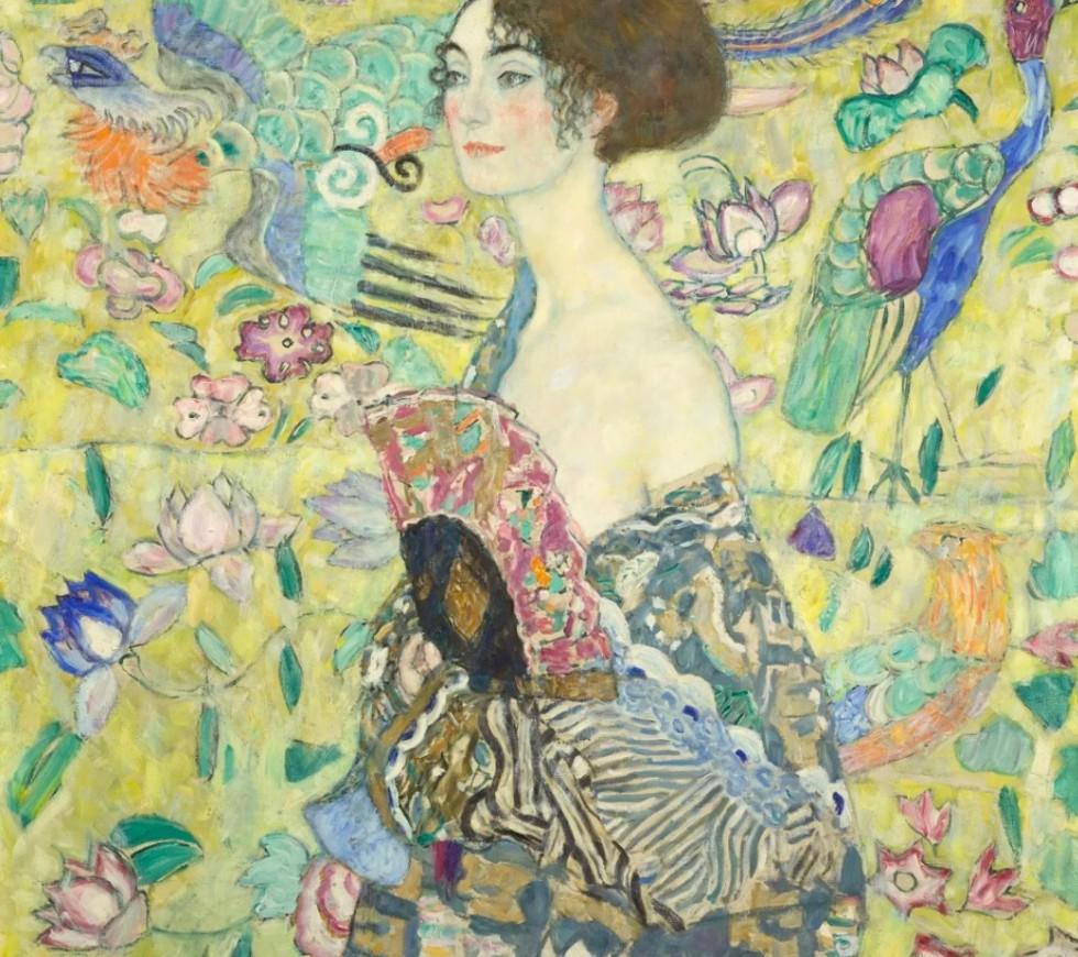 Густав Климт - дама с вером.jpg