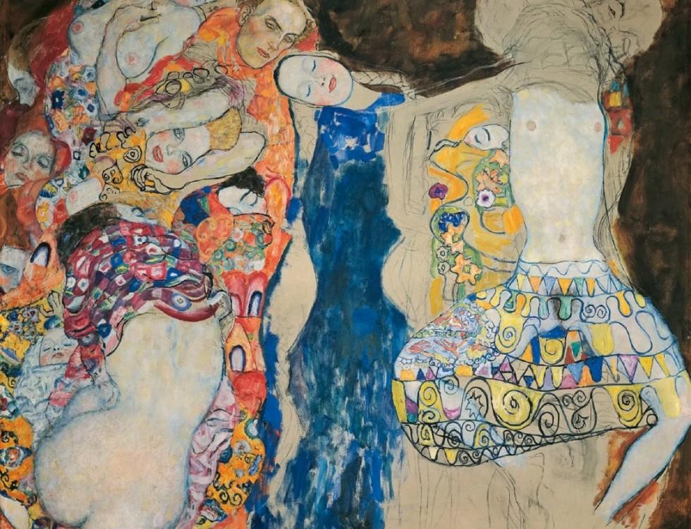 Густав Климт - Невеста (незавершённое).jpg