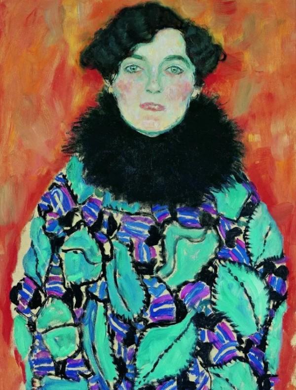 Густав Климт - Портрет Иоганны Штауде (незавершенное).jpg
