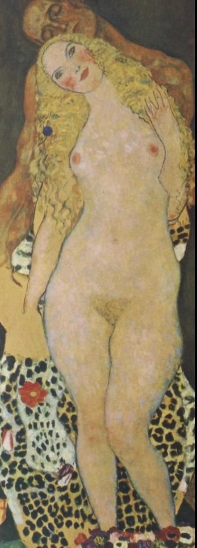 Густав Климт - Адам и Ева (незавершённое).jpg