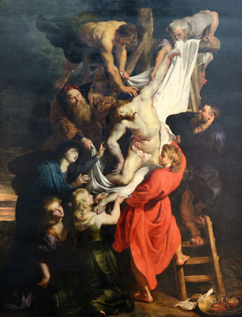 2-Питер Пауль Рубенс - Снятие с креста - 1614.jpg