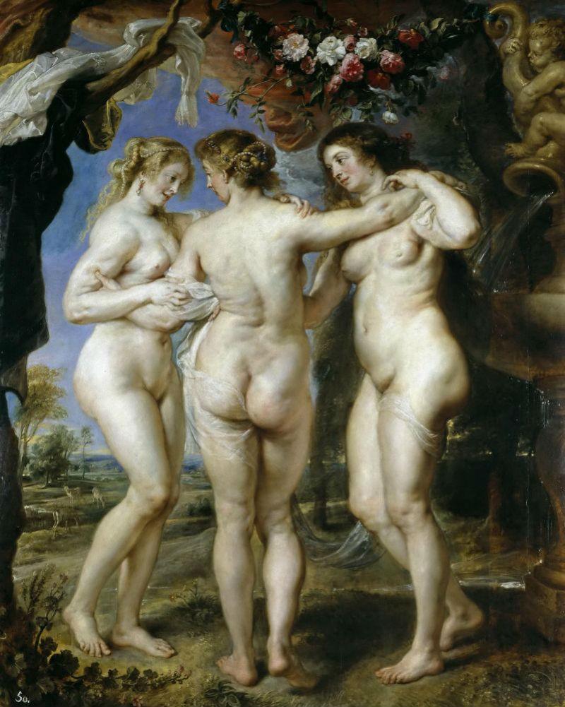 4-Питер Пауль Рубенс - Три грации - 1635 - Национальный музей Прадо - Мадрид.jpg