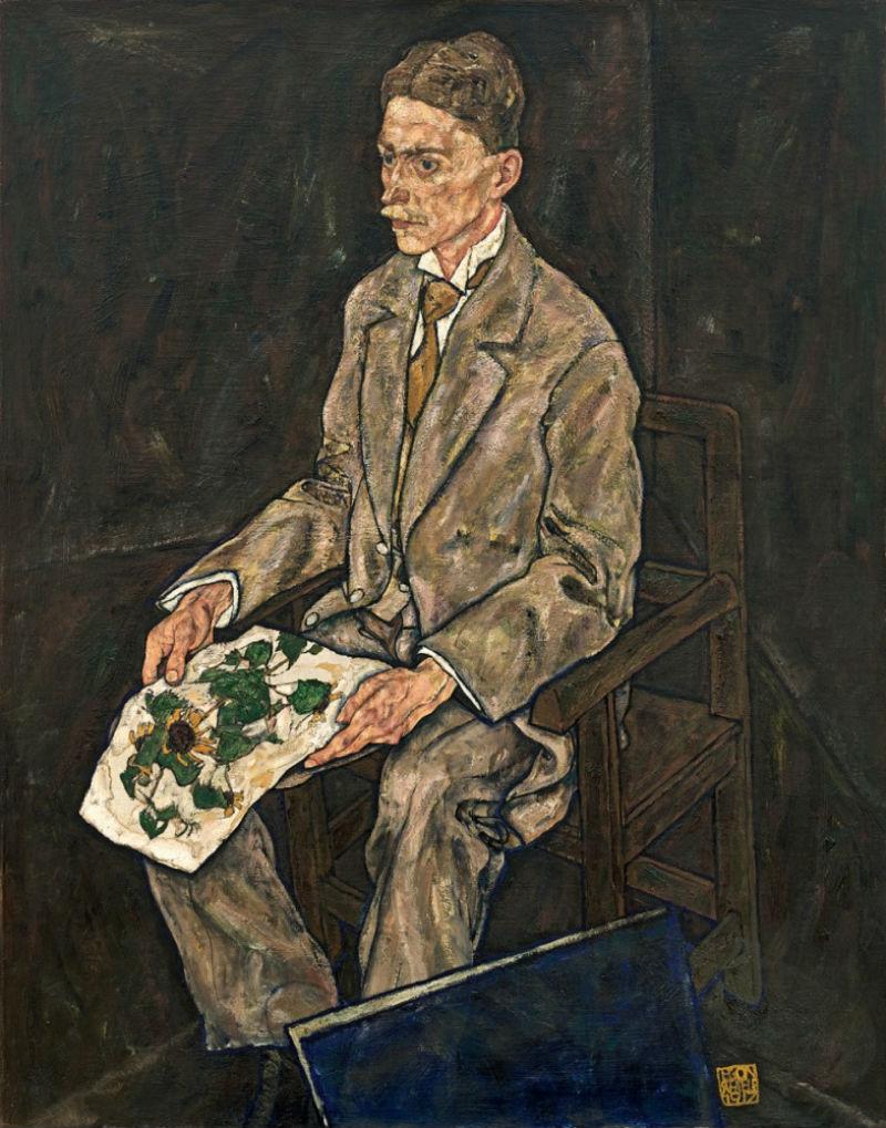 15-Эгон Шиле - Портрет доктора Франца Мартина Хабердицля 1917.jpg