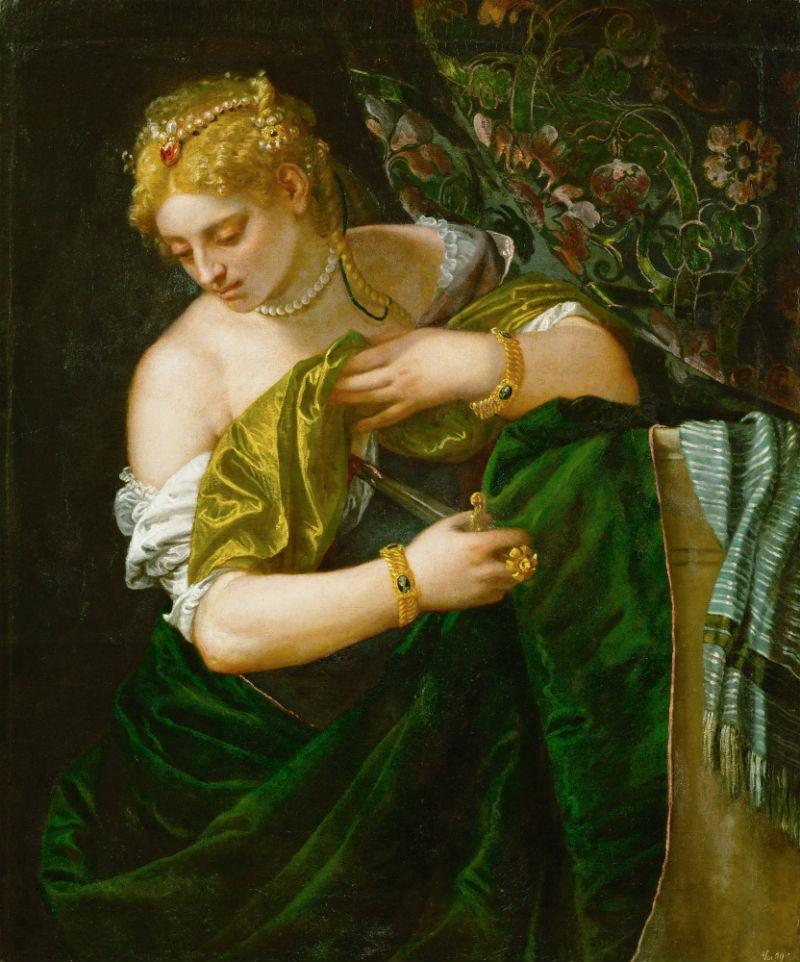 4-Паоло Веронезе - Лукреция - 1580-е годы - Музей истории искусств - Вена.jpg