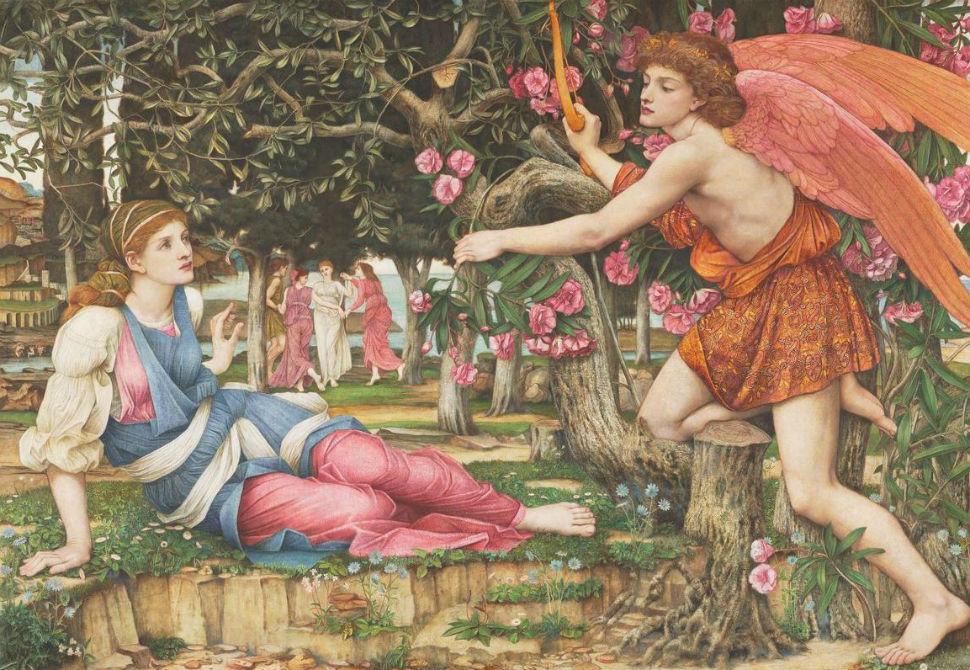 6-Джон Роддэм Спенсер-Стенхоуп - Любовь и Дева - 1877.jpg