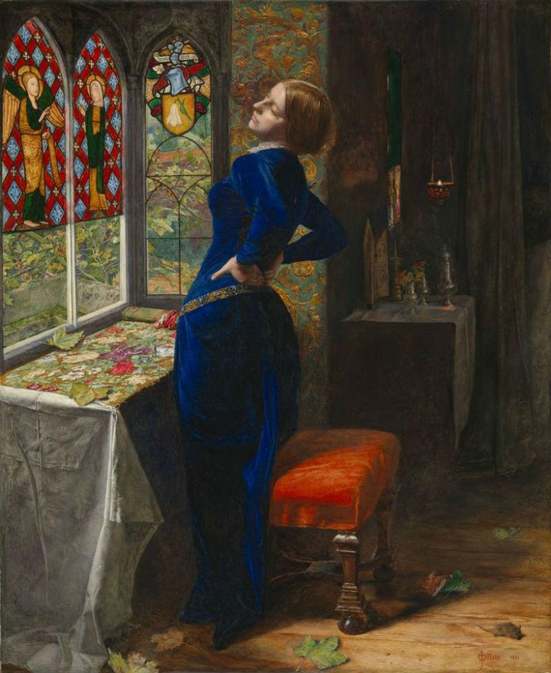 8-Джон Эверетт Милле - «Мариана» (1851) - Галерея Тейт Британия - Лондон.jpg