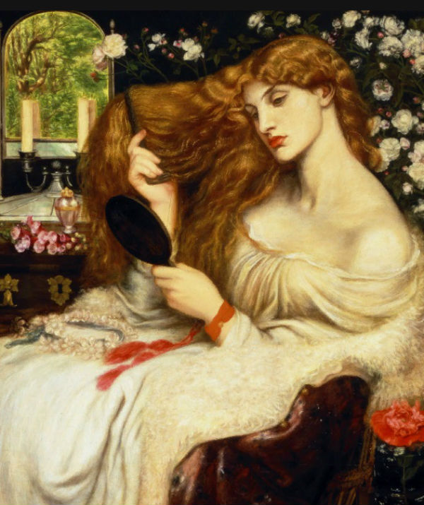 12-Данте Габриэль Россетти - Леди Лилит - 1873.jpg