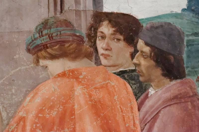 4-Филиппино Липпи - фрагмент фрески «Мученичество апостола Петра и Диспут с магом Симоном перед Нероном» (1481) - Флоренция.jpg