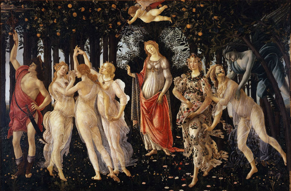 6-Сандро Ботичелли - Весна - 1485.jpg
