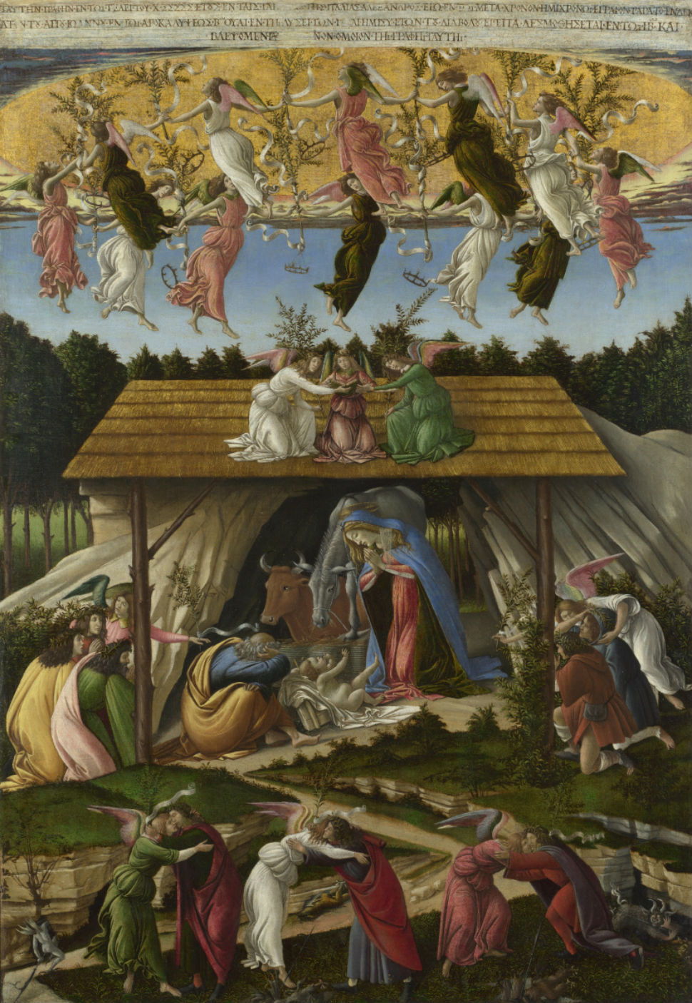 8-Сандро Ботичелли - Мистическое Рождество - XVI век.jpg