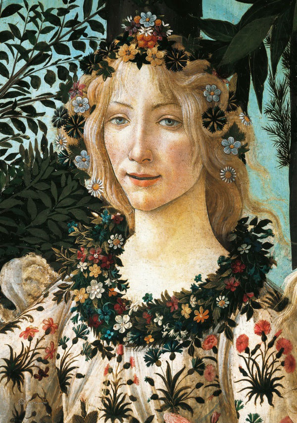 10-Сандро Ботичелли - Весна (фрагмент - Флора) - 1482.jpg