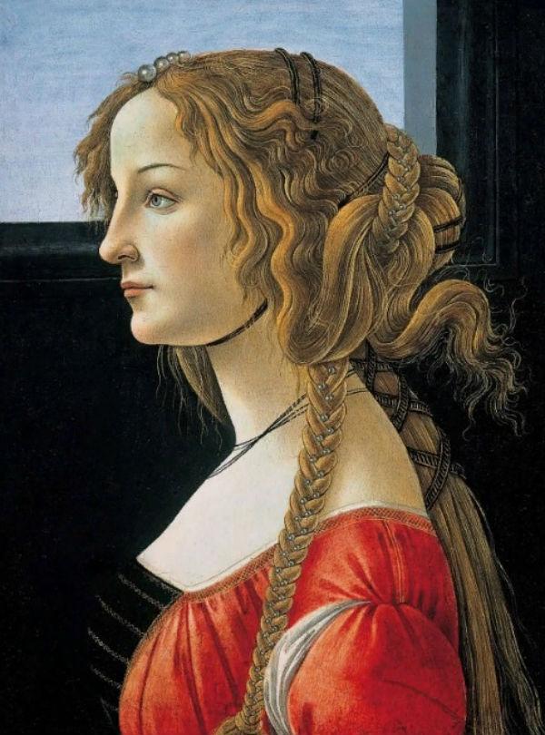 11-Сандро Ботичелли - Симонетта Веспуччи - 1476.jpg