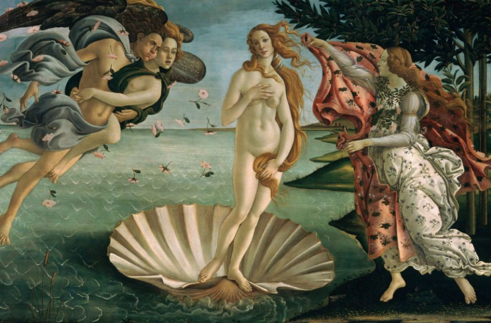 13-Сандро Ботичелли - Рождение Венеры - 1486.jpg