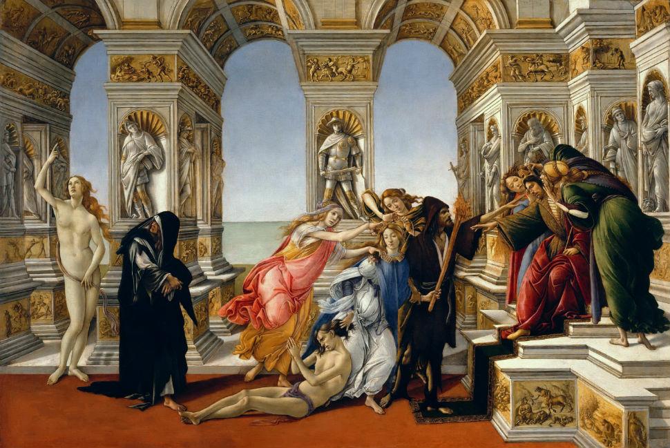 14-Сандро Ботичелли - Клевета - 1497.jpg