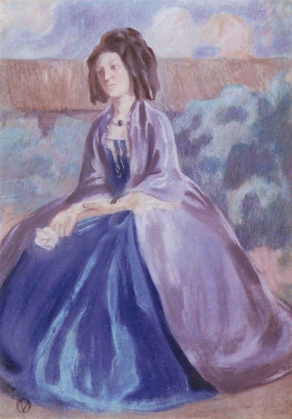 Дама в кринолине - 1903- Вятский художественный музей.jpg