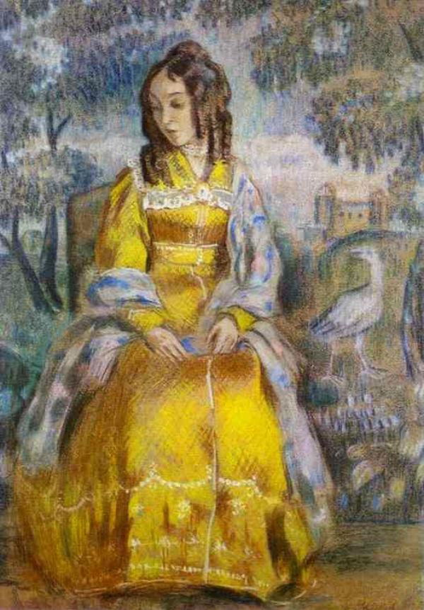 4-Дама у гобелена - Портрет Надежды Юрьевны Станюкович.jpg