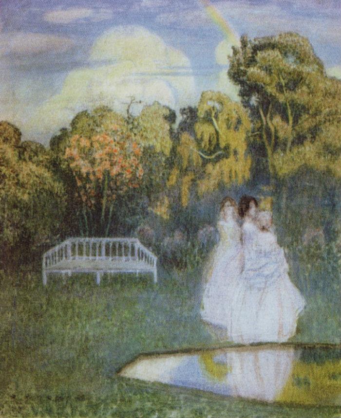 Парк погружается в тень - 1904.jpg
