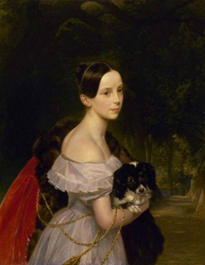 Карл Брюллов - Портрет великой княжны Александры Николаевны - 1837-1844.jpg