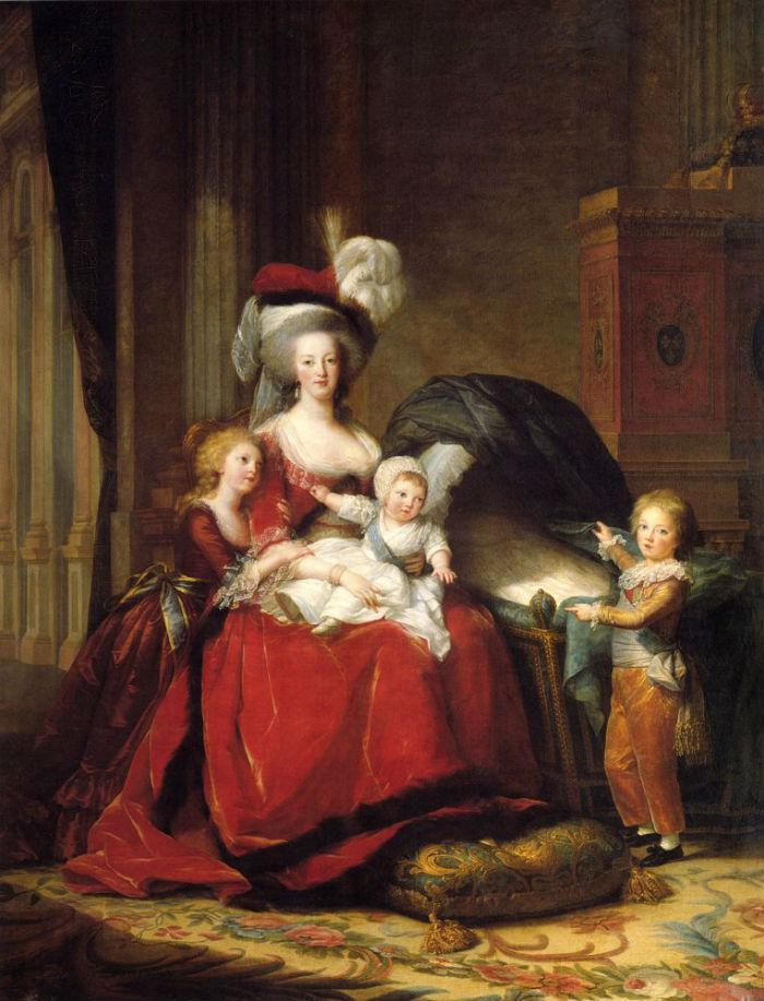 3-Мария-Антуанетта и ее дети - 1787.jpg