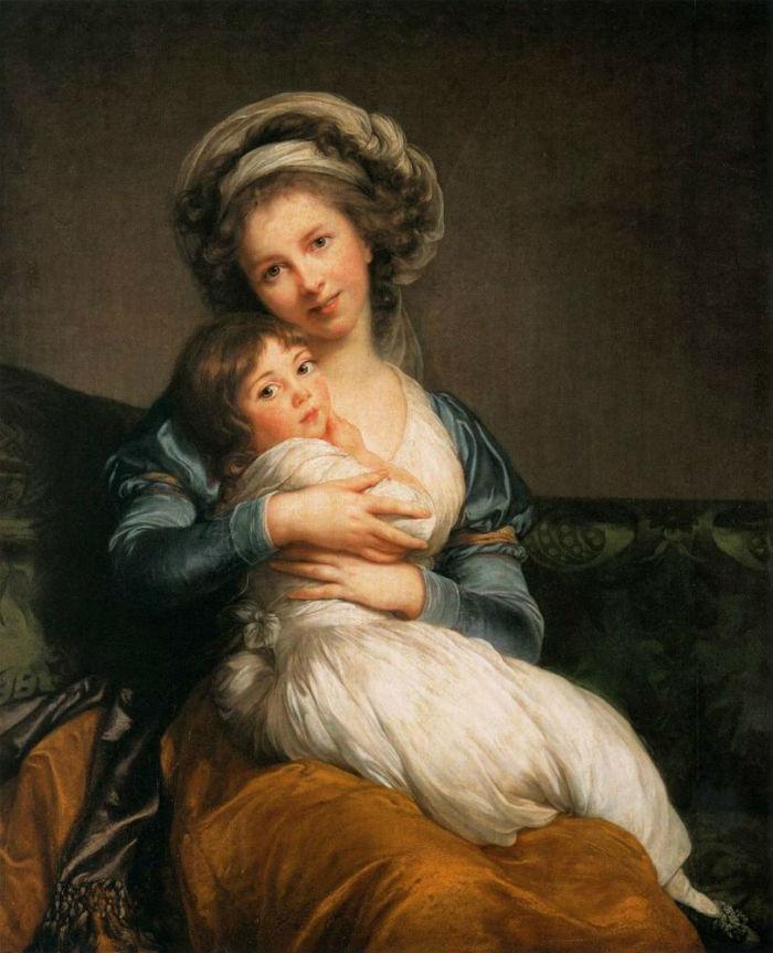 6-Автопортрет с дочерью  - 1786.jpg