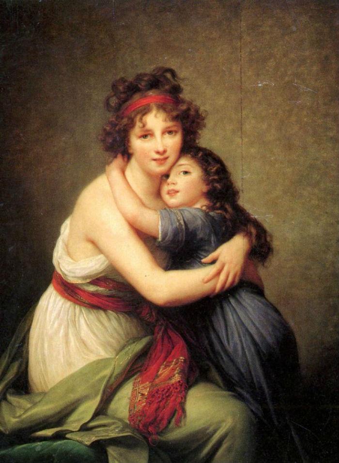 7-Автопортрет с дочерью - 1789.jpg