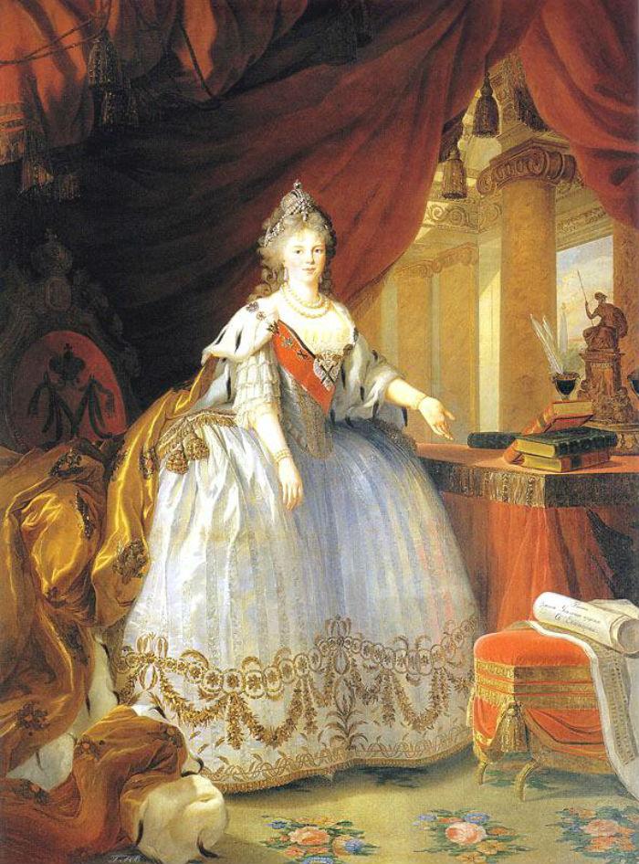 10-Портрет императрицы Марии Федоровны - 1799.jpg