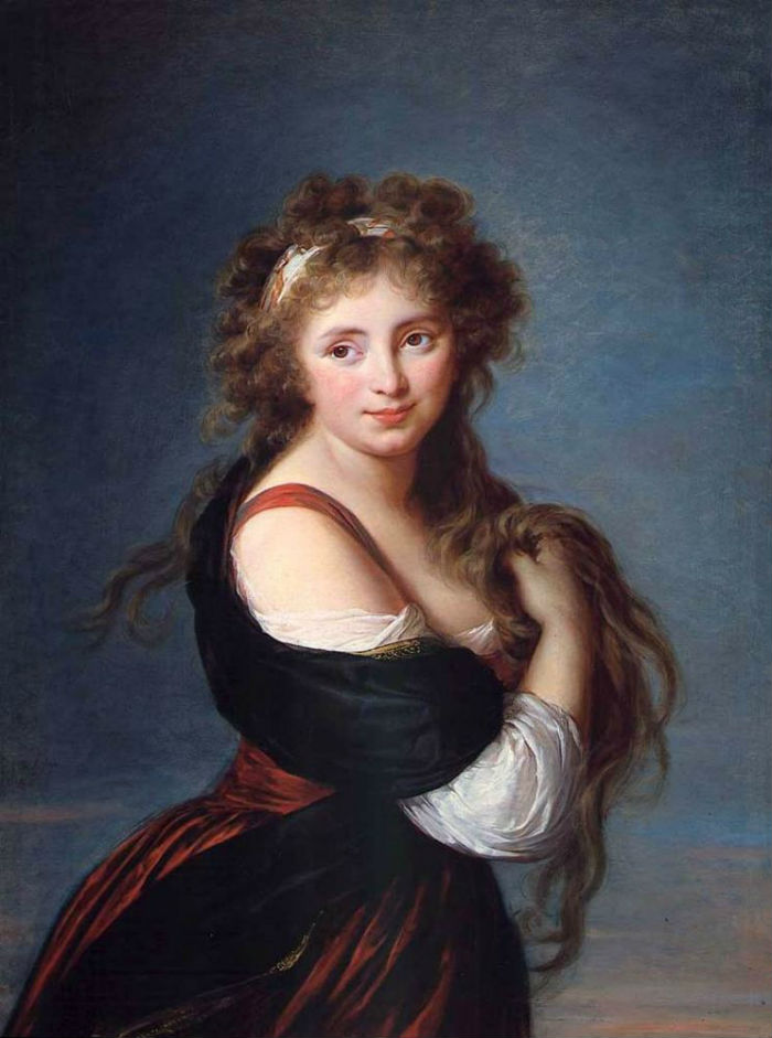 15-Портрет маркизы Габриэллы Ролан - 1791.jpg