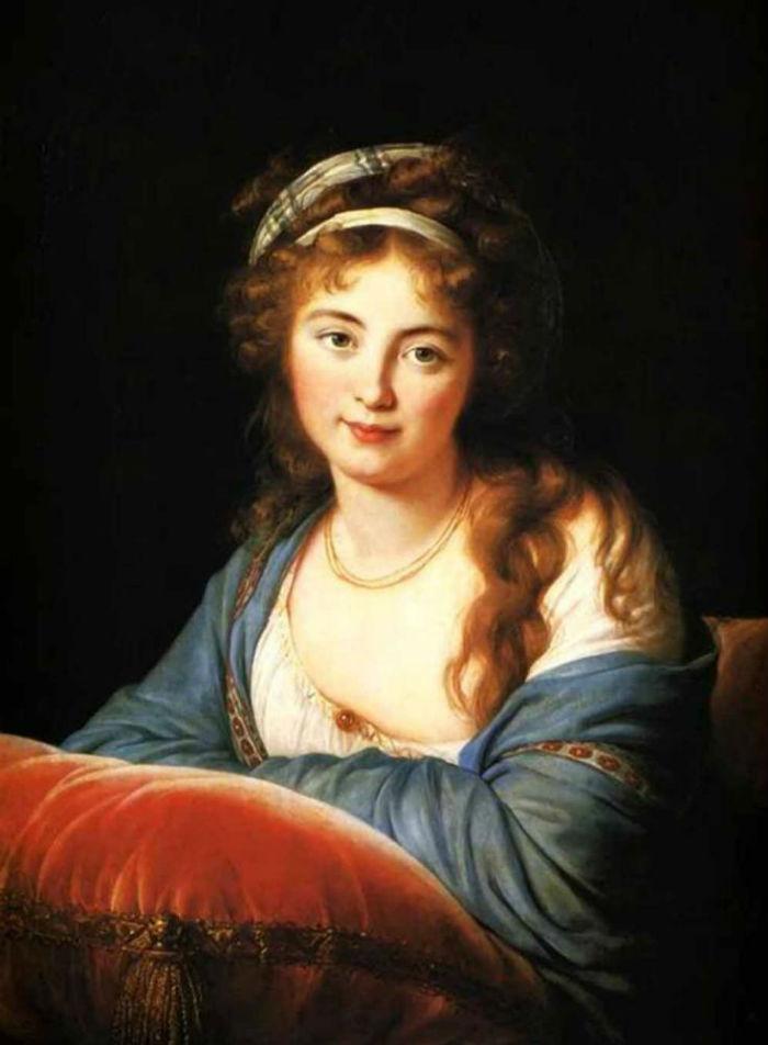 17-Портрет графини Екатерины Скавронской - 1796.jpg