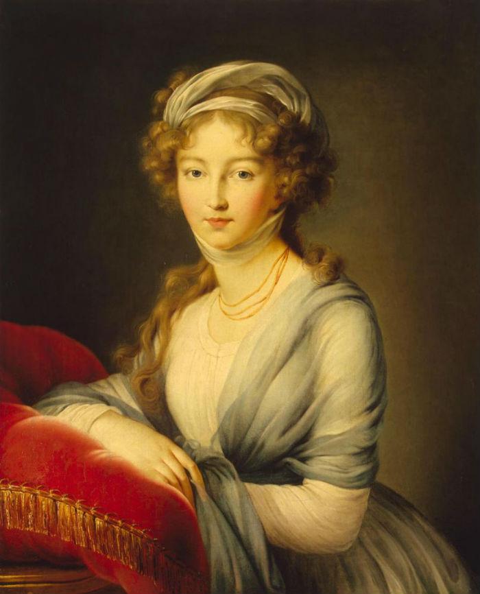 18-Портрет Великой княгини Елизаветы Алексеевны - 1798.jpg
