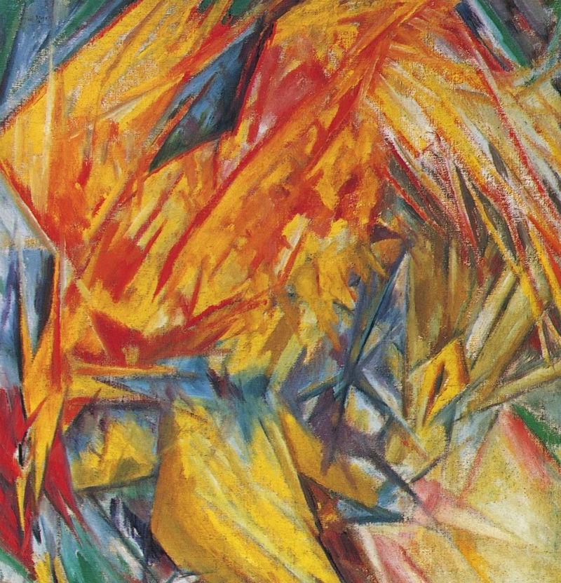 24-Михаил Ларионов - Петух Лучистый этюд - 1912.jpg