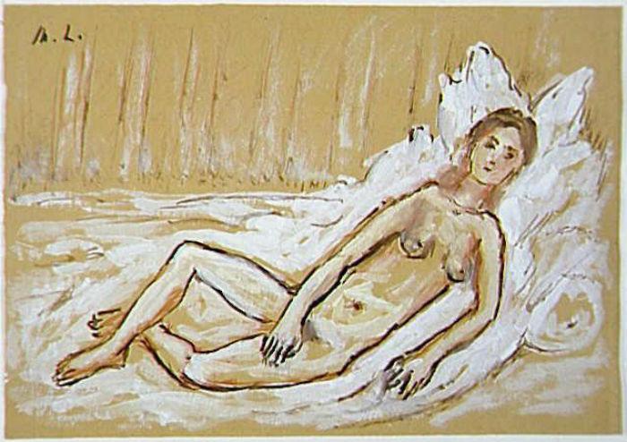 34-Михаил Ларионов - Лежащая обнаженная - 1930.jpg