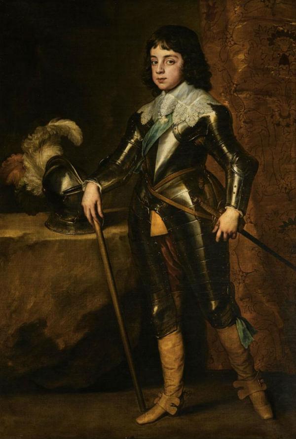 2-Антонис ван Дейк - Портрет Карла II в бытность принцем Уэльским - 1641.jpg