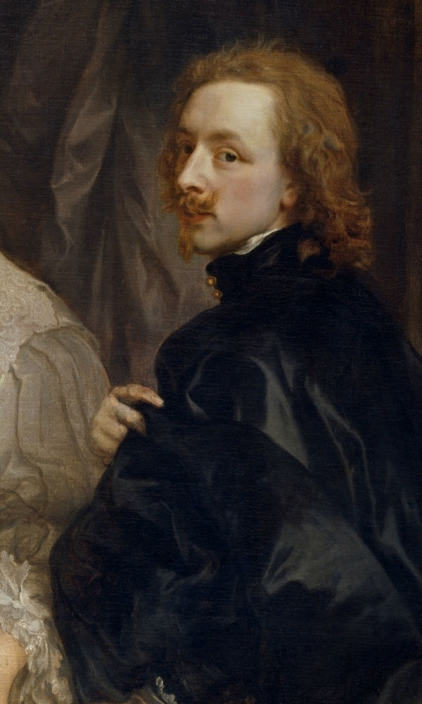 3-Антонис ван Дейк - Эндимион Портер и Антонис ван Дейк - фрагмент - автопортрет - 1623.jpg