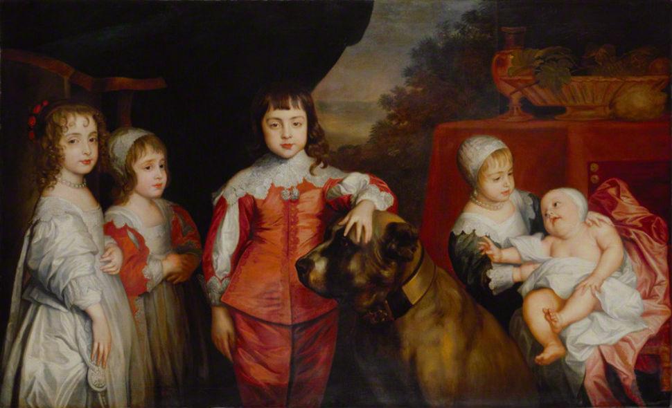 5-Антонис ван Дейк - Пятеро детей короля Карла I - XVII век.jpg