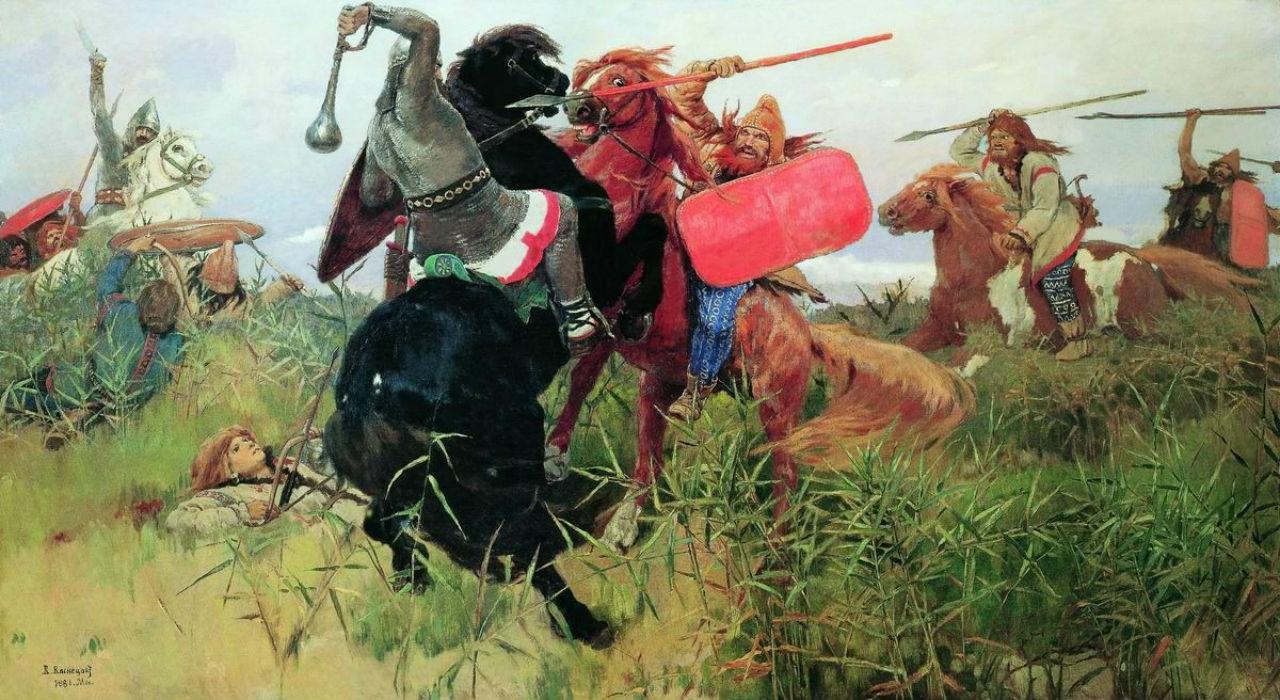 8-Виктор Михайлович Васнецов - Битва скифов со славянами - 1881.jpg