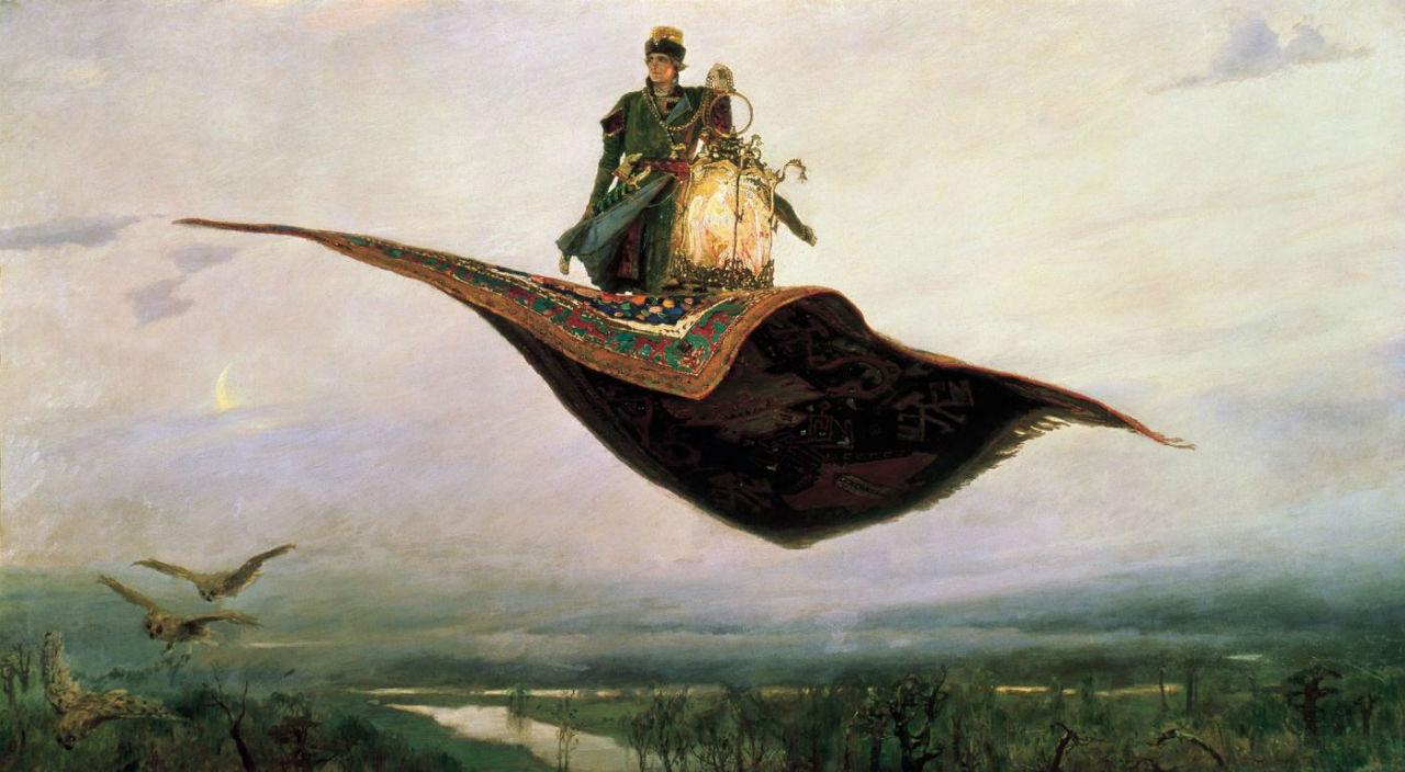 9-Виктор Михайлович Васнецов - Ковер-самолет - 1880.jpg