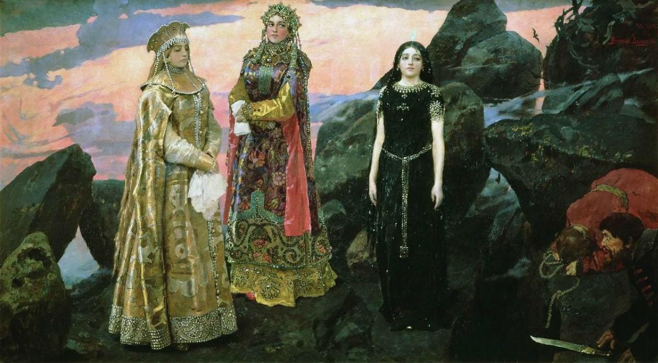 10-Виктор Михайлович Васнецов - Три царевны подземного царства - 1884.jpg