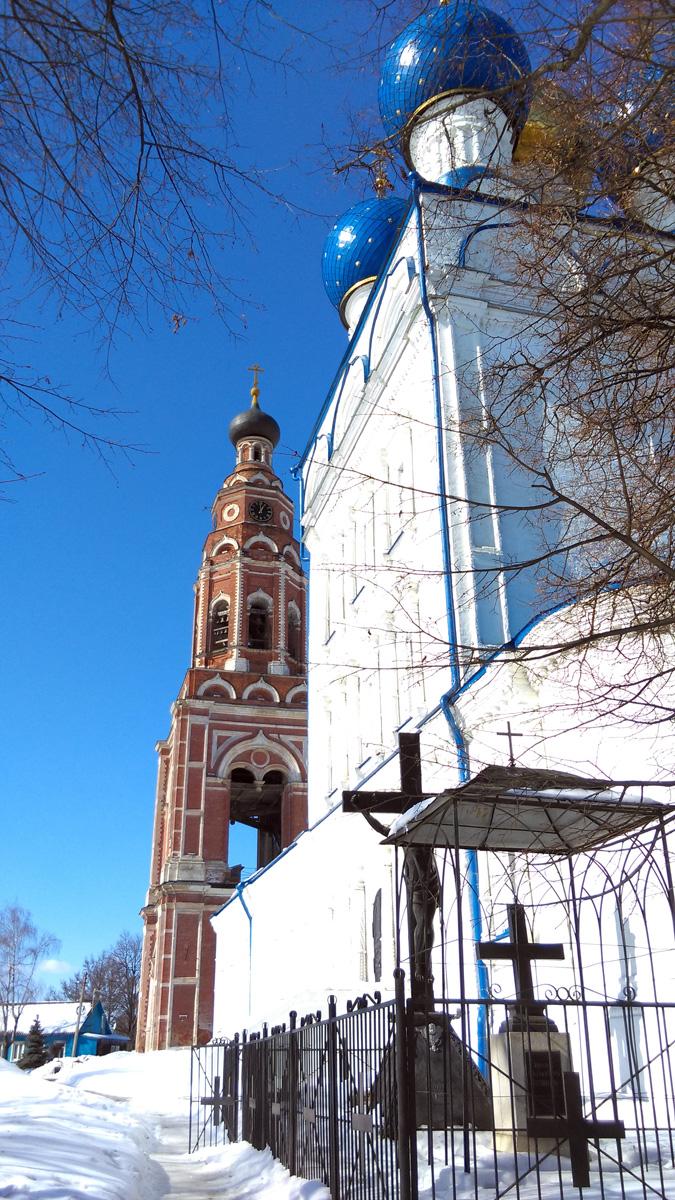 Колокольня и Собор Михаила Архангела в Бронницах