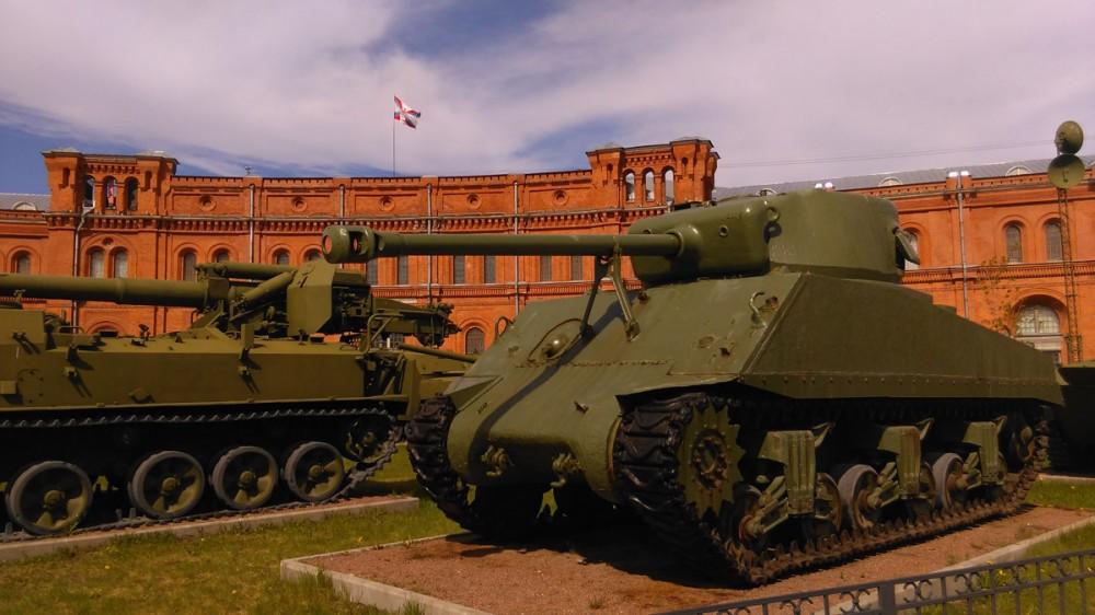 Военно-исторический музей артиллерии, инженерных войск и войск связи.