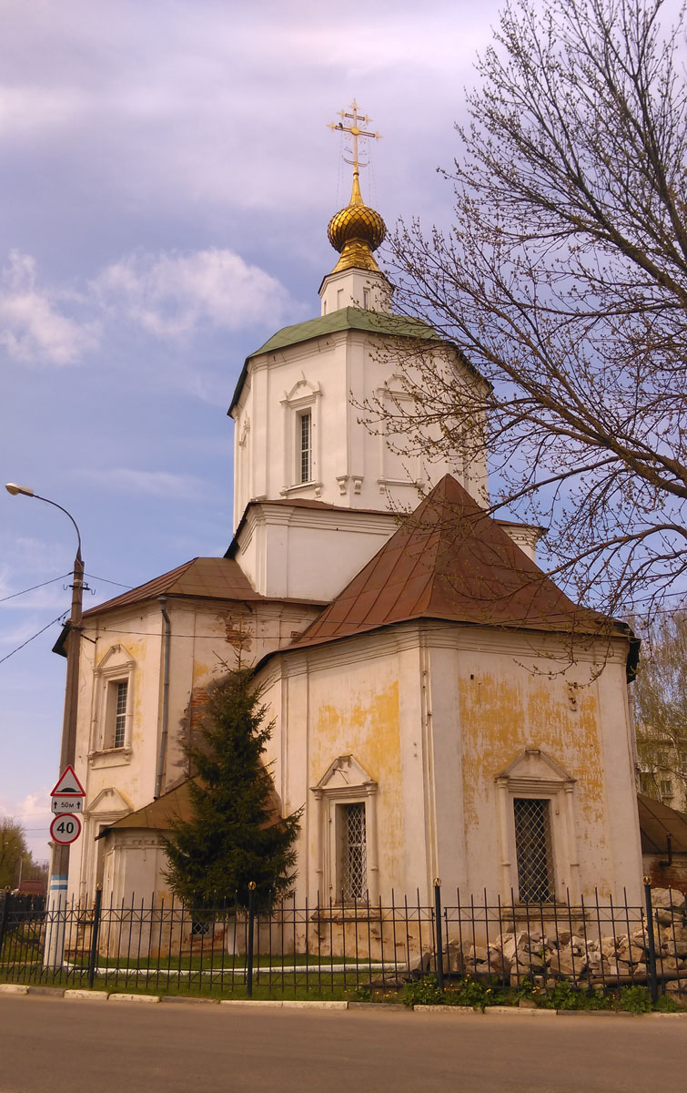 Церковь Успения Пресвятой Богородицы бывш. Успенского Отроч мужского монастыря.