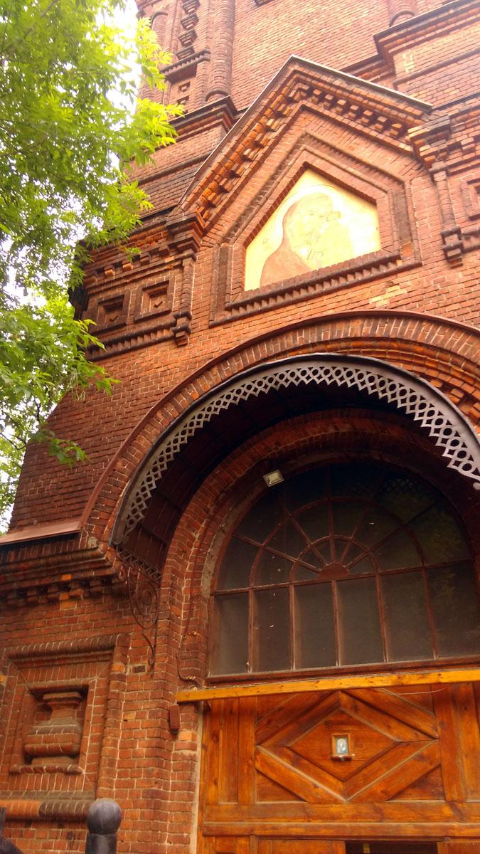 Собор был снесен в 1970 году, на его месте построен 12-этажный жилой дом. На месте Спасской церкви – 7-этажный дом. Двухэтажный больничный корпус с церковью св. муч. Акилины был снесен в конце 70-х…