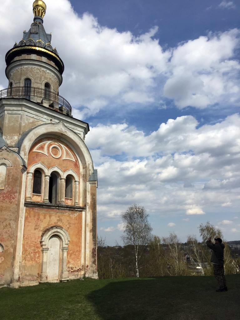 Свечная башня Борисоглебского монастыря. Построена в 1860-70 гг. Архитектор С. И. Гребенщиков.