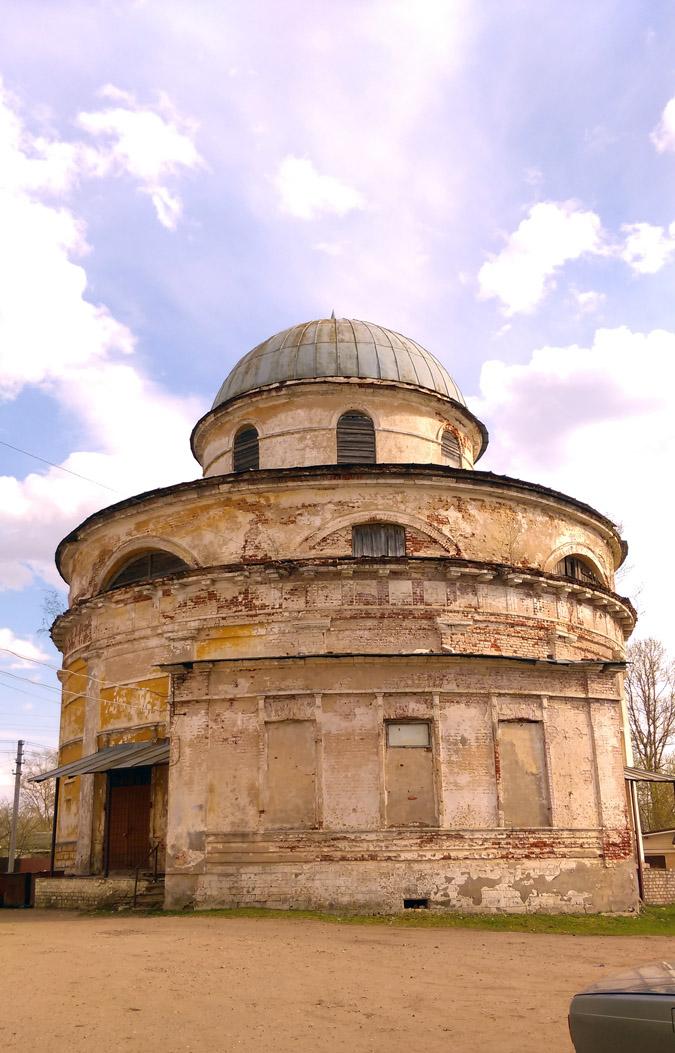 Бывший храм Усекновения главы Иоанна Предтечи.Год постройки: Между 1833 и 1840.
