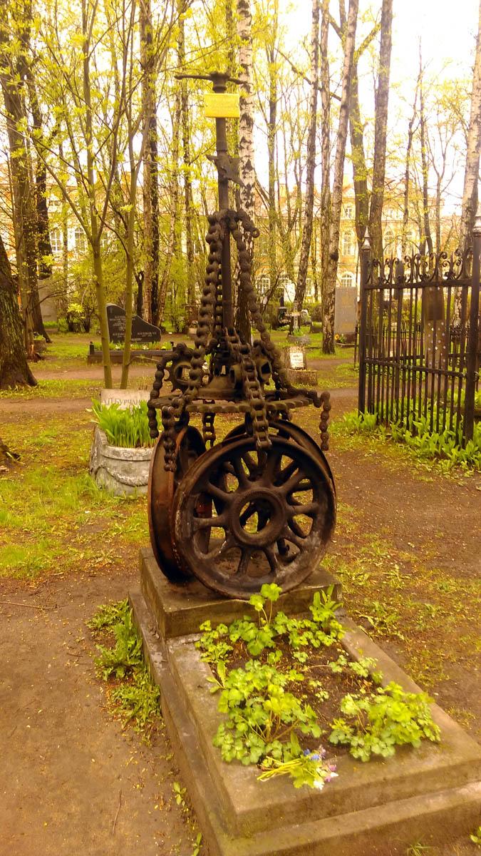 Казачье кладбище Александро-Невской лавры.