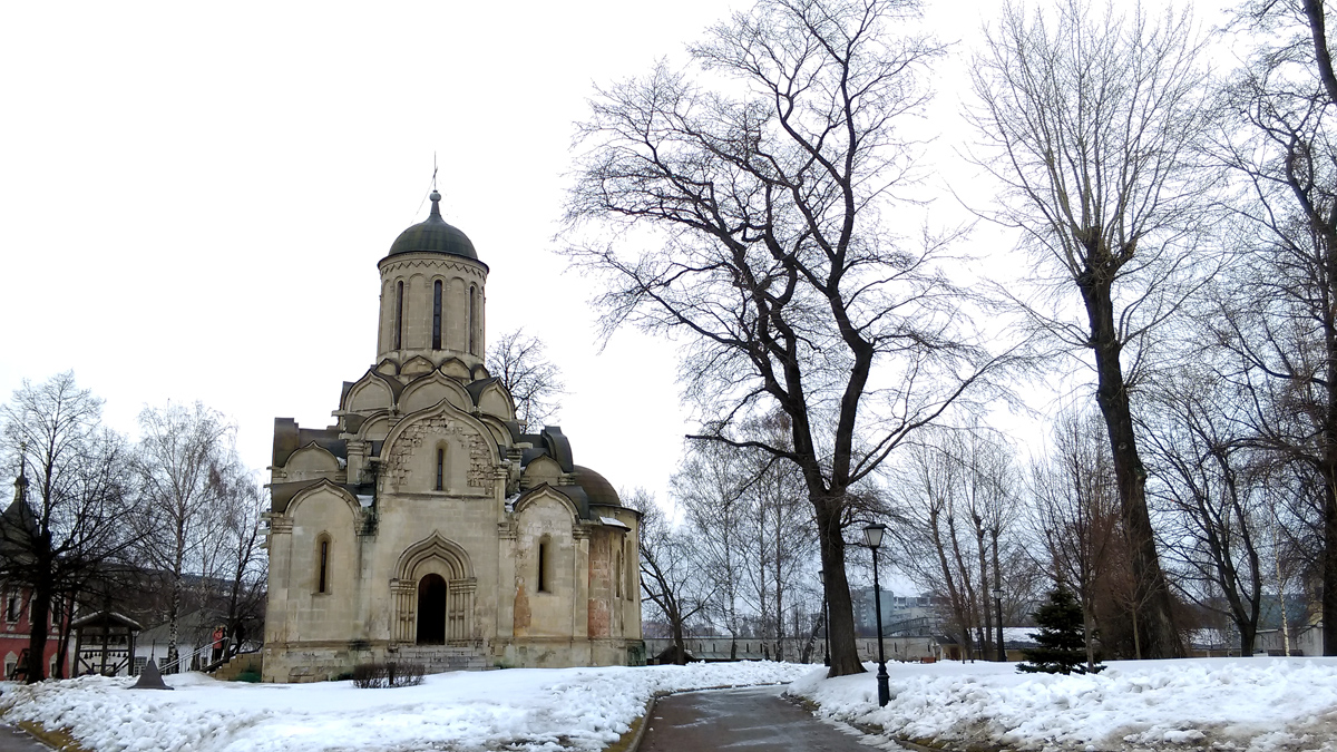 Собор Спаса Нерукотворного Образа Спасо-Андроникова монастыря, самое старое здание Москвы.